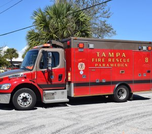 A joint statement from Tampa Firefighters Local 754 and Johnson said