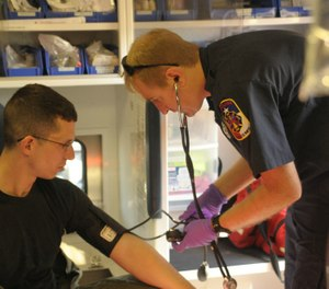 Paramedics and EMTs can stay focused and out of the news by making everyday tasks so routine, we don't need cheat sheets, post-it notes, user guides or high-tech reminders to avoid fatal errors. (Photo/USAF)