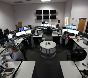 At the $4.35 rate, the 911 office will see an increase of $30,644 in revenue for the first six months if the dispatch center stays at a 82,000 volume call total.