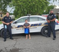 Tenn. boy, 6, recognized for calling 911 during mom's medical emergency
