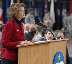Sen. Lisa Murkowski, R-Alaska, was asked to co-chair the Congressional Fire Caucus, filling the seat previously held by Sen. John McCain before his death in 2018.