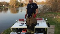 Mich. fire captain who suffered brain bleed while responding to call dies