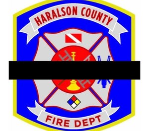 Haralson County Firefighter Justin Robinson, 50, has died at the hospital one week after experiencing a cardiac arrest while working at a crash scene. (Photo/Haralson County Fire Dept. & Emergency Management Agency Facebook)