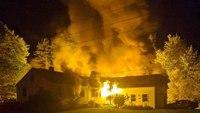 5 Maine FFs hurt at 'all-hands' house fire