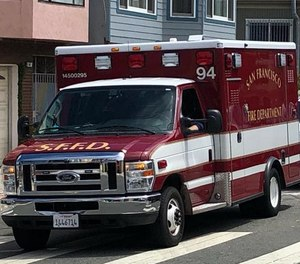 Only three San Francisco Fire Department members tested positive for COVID-19 antibodies despite nearly half saying they probably or definitely had contact with COVID-19 patients. (Photo/San Francisco Fire Department Facebook)