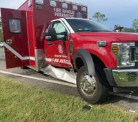 3 Fla. EMS providers hurt in rig crash