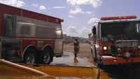 2 Pa. FFs hurt battling mill fire