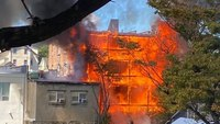 3 NY FFs hurt in 5-alarm apartment building fire