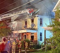 2 FFs injured at Pa. house fire