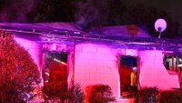 Mayday: Texas FF trapped in roof collapse at house fire