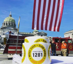 First responders across Pennsylvania traveled to the state capitol in September to push for the passage of Senate Bill 1281, which rebrands the state's