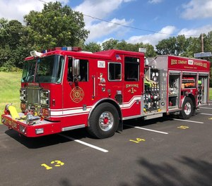 A Ridgefield Park firefighter and police officer are credited with saving the life of a junior firefighter who was critically injured in an explosion Sunday.
