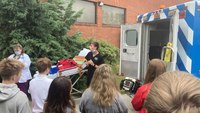 Ga. teen buys ambulance, teaches peers about EMS