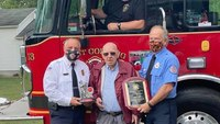 NY volunteer FF honored for 60 continuous years of service