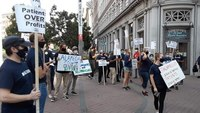 Video: Calif. EMS providers picket for higher wages