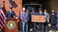 NY bridge renamed, dedicated in honor of firefighter-EMT who died from COVID-19