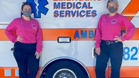 Photo of the Week: Fla. EMS crew dons pink for breast cancer awareness
