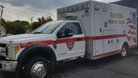 NY ambulance struck by tractor-trailer between births of 2 premature twins