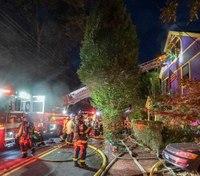 3 Mass. FFs injured battling fatal 3-alarm blaze
