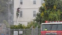Mass. FFs rescue woman, 3 children from 3rd floor at apartment blaze