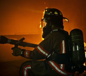 heat stress causes physiological changes in the body, the most profound of which is a sudden cardiac event (SCE), such as a heart attack or stroke. In 2016, SCEs caused 39 percent of firefighter LODDs; over the past 10 years, SCEs were responsible for 42 percent of firefighter LODDs. (Photo/USAF)