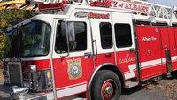 Ladder truck stolen from NY training center