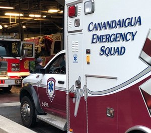 Canandaigua Emergency Squad Chief Matt Sproul is among EMS officials in New York calling for Gov. Andrew Cuomo to ensure EMS providers are given priority for COVID-19 vaccination.