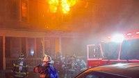2 NJ firefighters injured in 3-alarm blaze