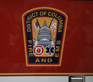 A member of D.C. Fire and EMS was shot as he tended to a shooting victim early Sunday morning.