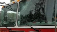 NYPD: Teen smashed FDNY truck with rock, threatened FFs with machete