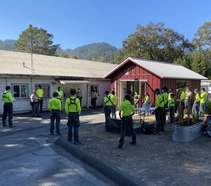 Teenage members of the Marin County Sheriff's Office Search and Rescue Unit received the Pfizer COVID-19 vaccine along with adult members of the squad.