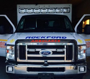 The woman was previously charged with operating while impaired in the first offense in an April 2016 case. (Photo/Rockford Ambulance Service)