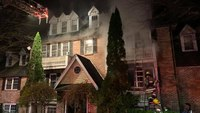 Md. FF injured in blaze at 4-story house
