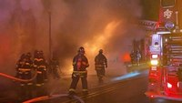 7 NY firefighters injured in commercial fire, explosion