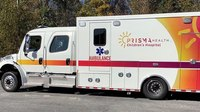 SC hospital launches fundraising campaign for pediatric ambulance