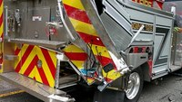 Passenger killed after vehicle hits Ala. fire truck