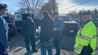 Mass. man apprehended after allegedly attacking EMT, fleeing ambulance