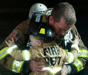 To all the fire service fathers – thank you.