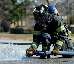 Water is our best defense against the heat release rates and energy production that we face with fires, and having a hand line that is flowing the right amount of water and at the right pressure is paramount.