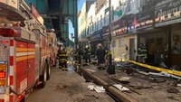3 FDNY FFs injured in fast-moving structure fire