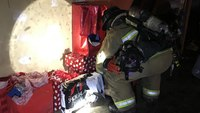 Calif. FFs save Christmas presents in apartment blaze