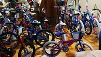 Cop buys bikes for kids in need