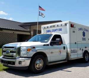 EMS providers in Cabell County are seeking to gain union recognition and collectively bargain to address paramedic staffing shortages they say are creating a threat to public safety. County commissioners are voting on a resolution today that would deny the providers' request, citing state law. (Photo/Cabell County EMS Facebook)