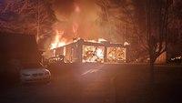 Pa. FF injured battling garage fire