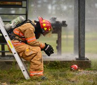 Evaluating firefighters for risk of developing PTSD