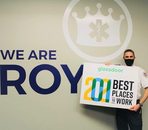 In February 2021, Royal Ambulance was honored with a Glassdoor Employees' Choice Award in the U.S. small and medium company category, Best Places to Work in 2021.