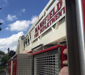 Mansfield Fire Chief Steve Strickling has ordered fire and EMS personnel to limit work outside of the department, including at hospitals and other fire departments, in order to reduce exposure to COVID-19. (Photo/Mansfield Firefighters IAFF Local 266 Facebook)