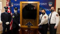 Photo of the Week: Memorial unveiled for FDNY EMT who died from COVID-19