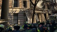 21 FDNY firefighters injured battling apartment building blaze