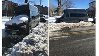 NJ FFs rescue woman trapped for 5 days in snow-covered van
